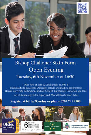Sixth Form Open Day 2018
