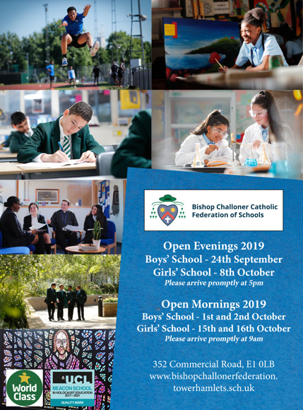 Open Day Ad 2019 website