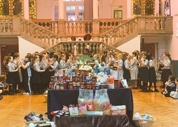 Juniors celebrate Harvest festival