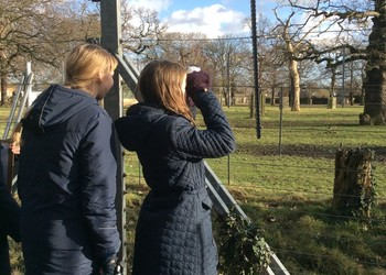 Staff and students get a dose of nature for Wellbeing Week