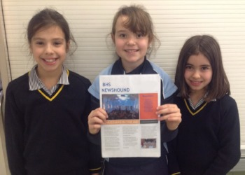 Read all about it! News Reporters club launch new newsletter