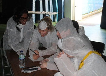 Year 11 become Crime Scene Investigators