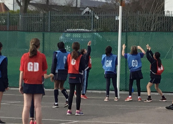 A buzzing Inter House Netball Competition