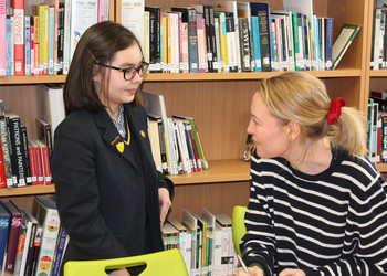 Author Holly Smale comes to Blackheath High School