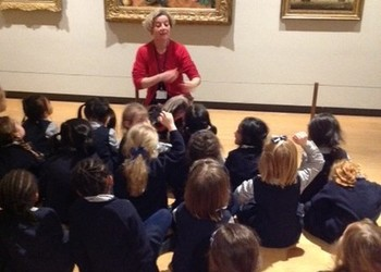 Reception trip to the National Gallery