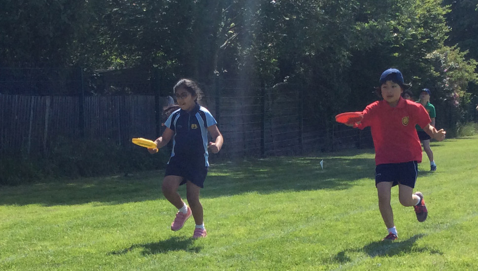 Dedication and top performances from Years 1-3 on Sports Day