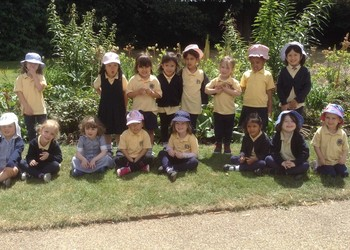 Cupcakes and a bear hunt for Nursery