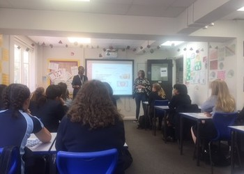 Sign language and deaf awareness workshop for Year 8