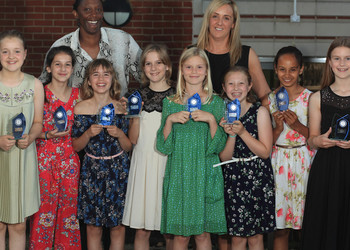 "Tracey Neville MBE urges our girls to ""Think Gold not Bronze"""
