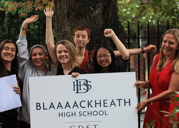 Blaaaackheath High School renames to celebrate students' straight A A-Level Results