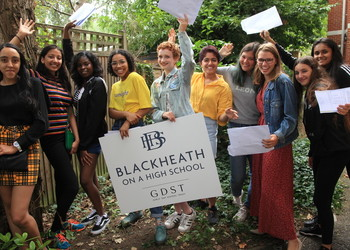 Blackheath-On-A-High-School are celebrating their best ever all-round GCSE results
