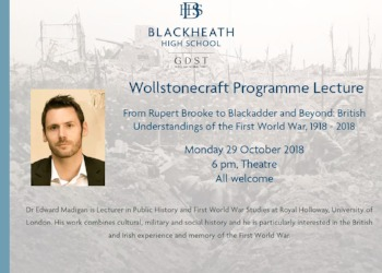 Wollstonecraft Lecture Series: Dr Edward Madigan on the understandings of the First World War