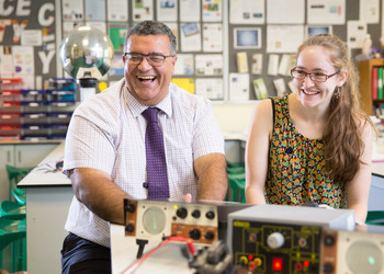 60 seconds with Mr P Jordan, Head of Physics