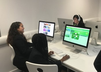 The Global Hour of Code at Blackheath High School