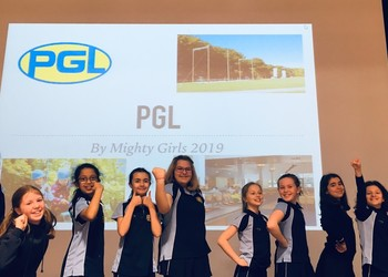The Power of PGL Positivity presented by the Mighty Girls of Blackheath High Junior School