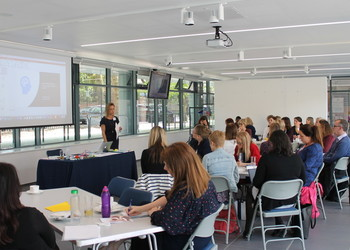 Clinical psychologist gives interactive workshop in the Blackheath High School SENDco Forum