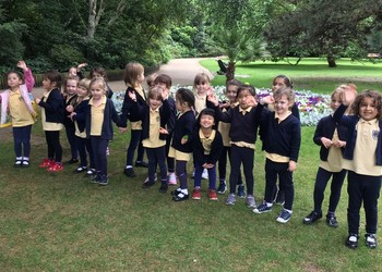 Blackheath High Nursery go on their first school trip!