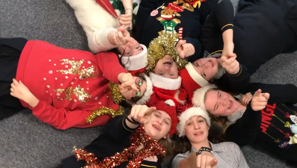 Celebrating with OUR VERY OWN special Christmas NO.1 music video: 'Christmas Party!'