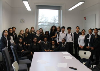 Visitors from Peru come to Blackheath High School
