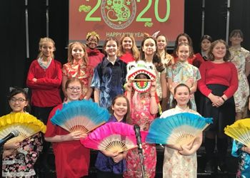 Learning Chinese traditions in the Chinese New Year Assembly