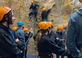 A weekend of climbing for Year 10 & 11
