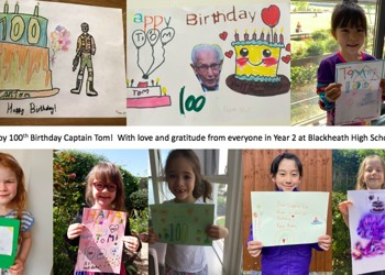 A special birthday message for Captain Tom Moore