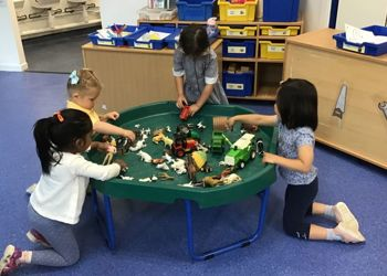 Nursery back to school after Guided Home Learning