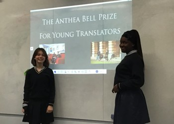 Blackheath High School languages department invited to take part in exclusive competition