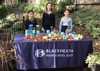 Thank you for your harvest donations at the Junior School