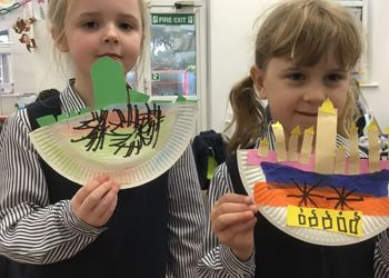 Nursery and Year 1 celebrate the Jewish festival of lights, Hanukkah