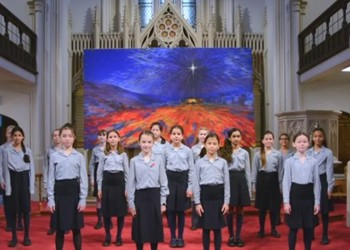 A festive performance from our Junior School Chamber Choir