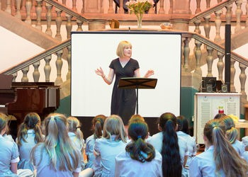 60 seconds with Mrs Coles, Head of Music at Junior School and Year 5 teacher
