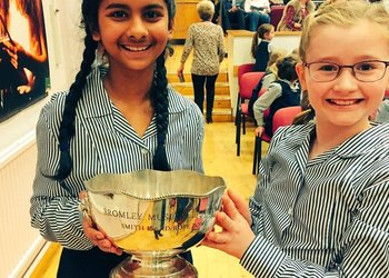 KS2 Choir wins Bromley Music Festival!