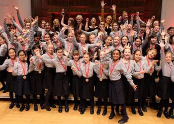 Our Junior Chamber Choir wins GDST Young Choir of the Year competition