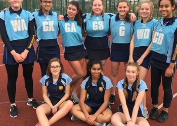U14 Greenwich Schools' Netball League