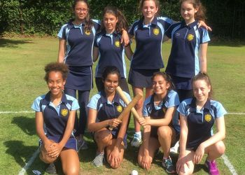 U14 Rounders squad take on Chislehurst and Sidcup school