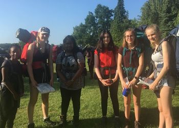 Bonding experience on Bronze DofE expedition