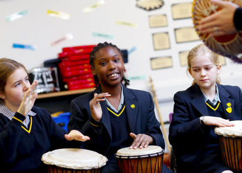 Getting musical for co-curricular