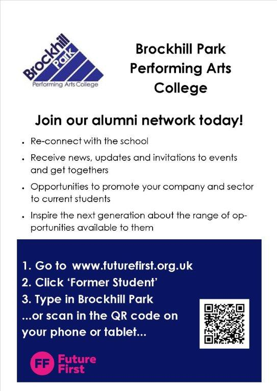 Alumni Network Flyer   Brockhill Park