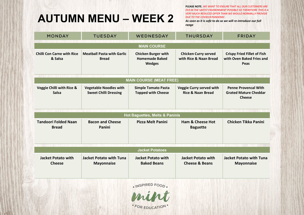 208 autumn mint menu september 2020 week 2