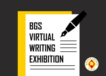 BGS Virtual Writing Exhibition for National Poetry Day