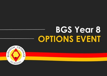 BGS Year 8 Options Event
