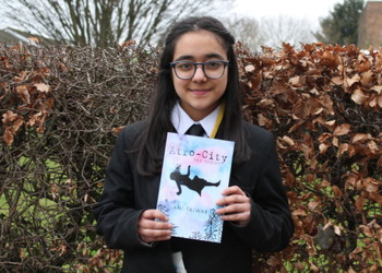 Student's first novel available to buy on Amazon