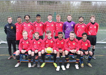 Senior Boys Football kits sponsored by Equity Network
