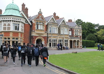 Exploring Bletchley Park with year eight Computer Science