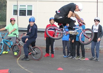 Tips on how to improve at school from ex-BMX world champion