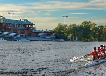 Experience on the world stage as year 13 rower takes part in Head of Charles Regatta in Boston