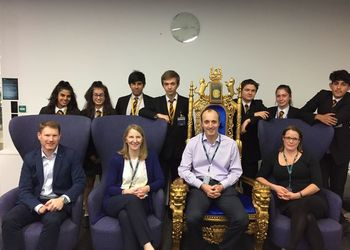 Students face the o2 Dragons' Den with new app ideas