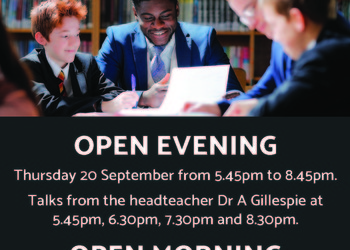 Open Evening for new year seven entry