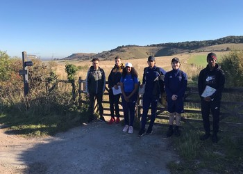Navigation skills training in the Chiltern Hills